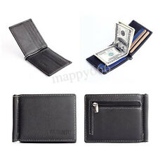 Mens Leather Bifold Wallet Credit ID Card Case Holder Slim Coin Purse Billfold