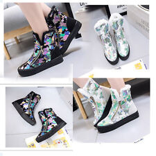 Women's  Winter loafer Ankle Snow Boots Warm Faux Fur flat sneakers casual shoes