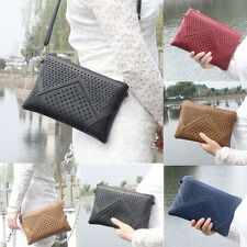 Women Hollow Purse Bag Leather Handbag Shoulder Crossbody Messenger Phone Bag