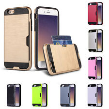 Shock Proof Plastic TPU Hybrid Armor Case For Apple iPhone 7 6 6S Plus Fashion