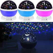 New Projector Baby Sleep Lighting Sky Star Master led Projection Lamp bedroom