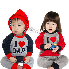 Infant Boy Girl Baby Winter Long Sleeve Hooded Romper Jumpsuit Costume Outfit
