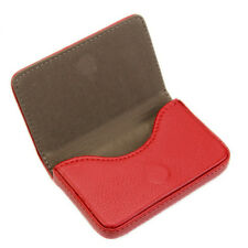 PU Leather Expandable Credit Card ID Business Card Holder Magnet Buck Wallet New