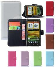 Luxury Flip Cover Stand Wallet Leather Case Skin For HTC One X S720e G23