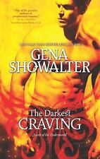 The Darkest Craving (Lords of the Underworld) Showalter, Gena Mass Market Paper
