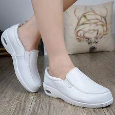 Newly Nurse Shoes Skidproof Doctor Nurse Slip-On Working Shoes Low Heel Trainers