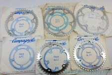 NIB/NOS Campagnolo C-Record Strada Chainrings: 135mm BCD - 7/8/9 Speed - Various