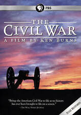 CYBER SALE! The Civil War 25th Anniversary, Ken Burns (DVD, 2015, 6-Discs, PBS)