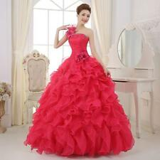 Quinceanera Dress Formal Prom Party Pageant Ball Dresses Bridal Wedding Gown S*