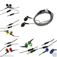 Bass Stereo In-Ear Earphone Headphone Headset Earbuds 3.5mm For iPhone Samsung