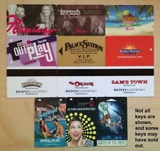 Las Vegas Casino Electronic Hotel Room Key Cards - Your Choice!  Huge Supply