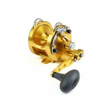 New Avet HX 5/2 Fishing Reel 2 Speed-Gold- Free Spooling and Ship