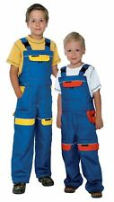 Kids Bib and Brace ,dungarees boys work Trousers Children  Suit Overalls pants