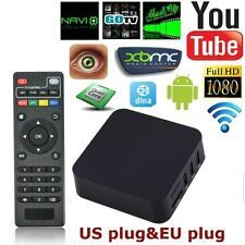 Android 4.4 Amlogic S805 Quad Core Smart TV Box XBMC 8GB 4K WIFI Media Y9A5