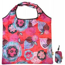 Wild Poppy Packable Colourful Design Fashion Shopping Bag For Life