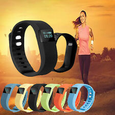 NEW Sport Wristband Bracelet Smart Watch Tracker Activity Step & Sleep Pedometer