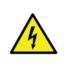 Danger High Voltage Sign Warning Car Vinyl Sticker - SELECT SIZE