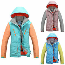Mens Winter Snowboard Ski Suit Snow Jacket Coat Windproof Outdoor Hooded Jacket