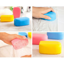 Flexible Scrubbing Brush Hand Silicon Gel Wave Cleaning Washing Clothes Brush