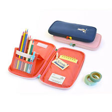 Jam Studio - Folding Pencil Case V.3 -  Standable Pen Holder Ziparound Pen Pouch