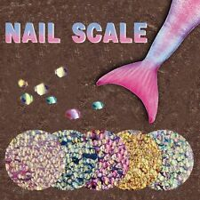 1 Bag Colorful Shining Scales Nail Sequins Glitter Tips Manicure Nail Art Decor
