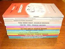 lot 13 Peanuts books Charkes Schulz snoopy charlie brown 1960's first editions
