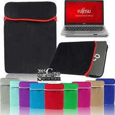 "New Neoprene Sleeve Case Bag Pouch For 15.6"" FUJITSU LIFEBOOK Laptop Notebook"