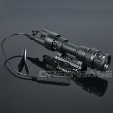 Tactical Flashlight M952V LED Light For Rifle And SMG White And IR Output BK/DE
