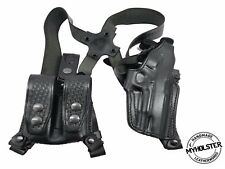 Shoulder Holster System with Double Mag Pouch for Glock 17/22/31, MyHolster