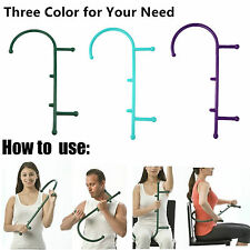 Self Massage Stick Therapy Tool Cane Massager Body Muscle Relief Good Quality FY