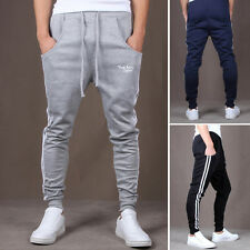 Mens Casual Jogger Skinny Pants Sports Slim Fit Hip-Hop Running Jogging Trousers