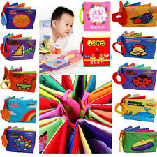 Infant Baby Kid Child Book Intelligence development Cloth Cognize Book Study Toy
