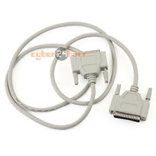 Male to Male/Female Parallel 25Pin 25-Pin DB25 Pin Printer Extension Cable New