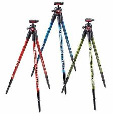 NEW Manfrotto Off road Aluminum Tripod with Ball Head Made in Italy Retail $149