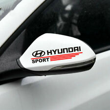 1 pair vinyl auto rear view mirror car sticker Sport stripe decal for HYUNDAI