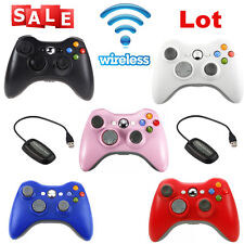 OEM Official Genuine Microsoft Xbox 360 Wireless Controller 5Colors  LOT OY