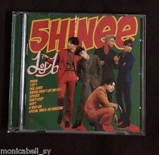 Kpop SHINee 5th album 1of1 : CD,PB, photo paper (ONEW/JONGHYUN/TAEMIN/MINHO)