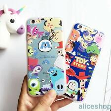 Cartoon Toy Story Sulley Monster Hard Case Cover for iPhone 7 7 Plus 6 6S 5 SE