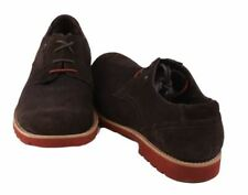 Rockport Ledge Hill Plaintoe Mens Bitter Chocolate Suede Dress Oxford Shoes