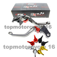 FXCNC Short Gray 3D Rhombus Brake Clutch Lever For BMW R1200GS ADVENTURE 06-13