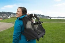 FurHaven Pet Backpack-Roller Carrier Travel Pet Carrier Dog Carrier
