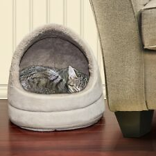 Furhaven Pet NAP Hood Pet Bed Small Dog or Cat Bed Lounger Dome
