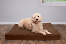 FurHaven Pet Nap Bed Deluxe Egg-Crate Orthopedic Mat Quilted Dog Bed