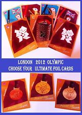 Choose Adrenalyn XL LONDON 2012 OLYMPIC ULTIMATE FOIL Card From: 341- 350 PANINI