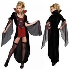 Vampire Costume Adult Victorian Vampiress Halloween Fancy Dress