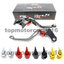 FXCNC CNC Gray 3D Rhombus Brake Clutch Lever For BMW R1200GS/F800GS/Adventure
