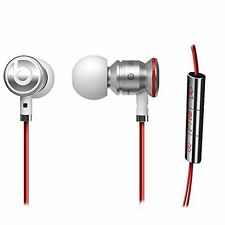 Genuine Authentic Monster Beats Ear Buds URBeats By Dre White/Red earphones