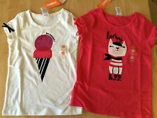 NWT Gymboree Ciao Puppy 6 7 8 10 Ice Cream or BFF Tee Shirt Top Girl