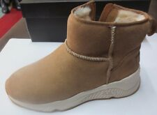 ash miko suede camel fur-lined synth NEW Val E sizes 36,37,38,39,40