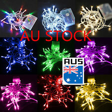 10-50 LEDs Battery Fairy String Lights Indoor Outdoor Garden Party Wedding Decor